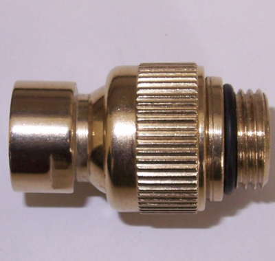 Fixed Shower Head Swivel Joint - Gold Effect